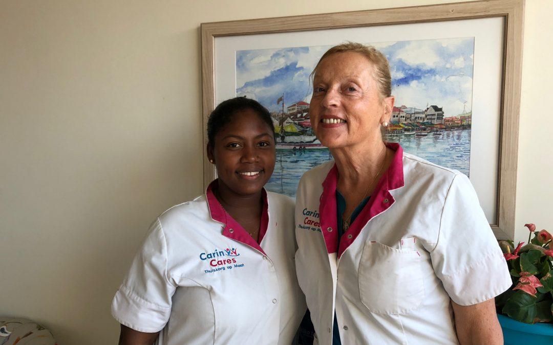 Stoma Verpleegkundige Bernadette van Haaster te gast bij Carin Cares