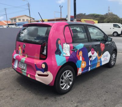 Did you see us driving around in this amazing car?